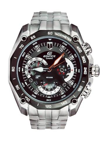 Casio Edifice Men Black Dial Chronogragh & Analogue Watch ED390