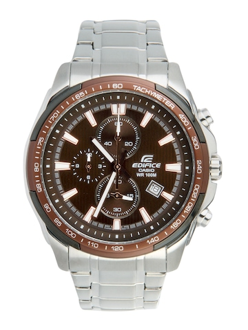 Casio Men Edifice Brown Dial Watch