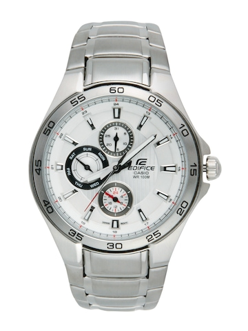 Casio Men Edifice White Watch