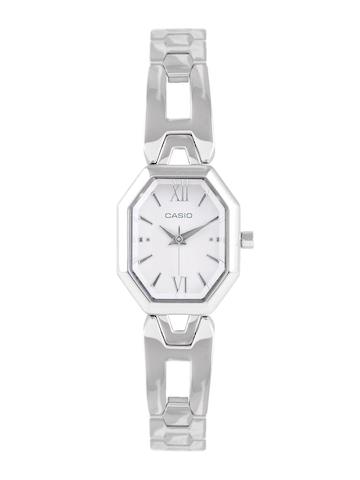 Casio Women White Dial Watch