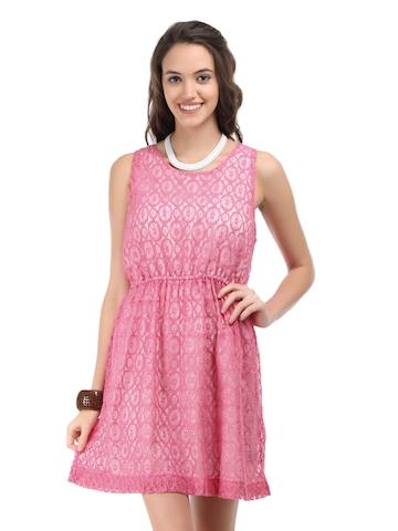 Chemistry Pink Lace Dress