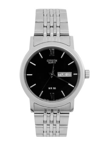 Citizen Men Black Dial Watch