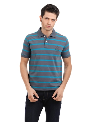 Classic Polo Men Grey T-shirt