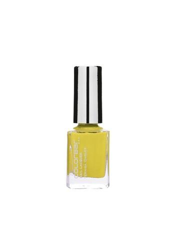 Colorbar Lemon Drop Nail Lacquer 02