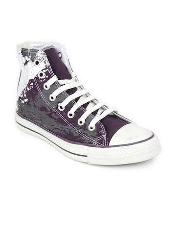 Converse Unisex Sketch Purple Casual Shoes
