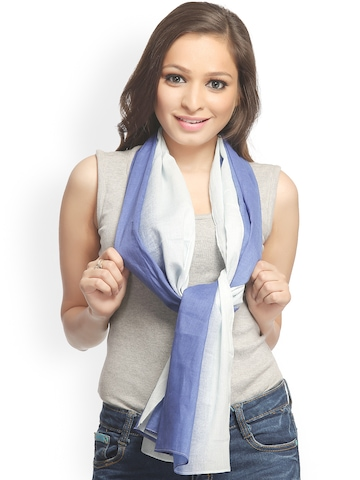 CoolThreads Women Blue Scarf at myntra