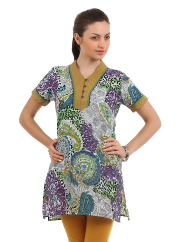 Diva Women Multi Coloured Kurta