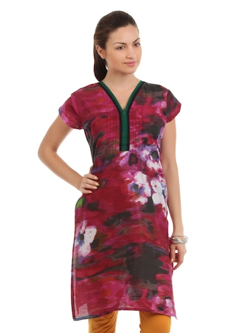 Diva Women Multi Colour Kurta