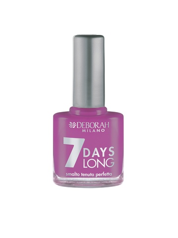 Deborah 7 Days Long Violet Nail Polish 831
