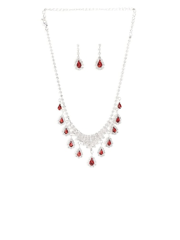 Diovanni Silver Princess Jewellery Set