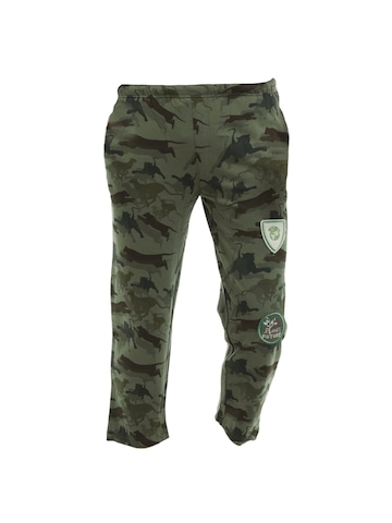 Do u speak green Boys Olive Trousers
