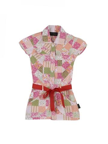 Doodle Girls Multi Coloured Shirt Dress