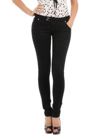 Elle Women Black Jeans