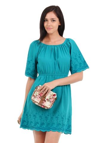 Elle Women Blue Tunic