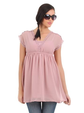 Elle Women Pink Tunic