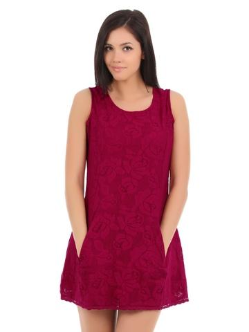 Elle Women Red Dress