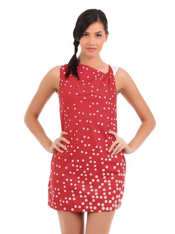 Elle Women Red Tunic
