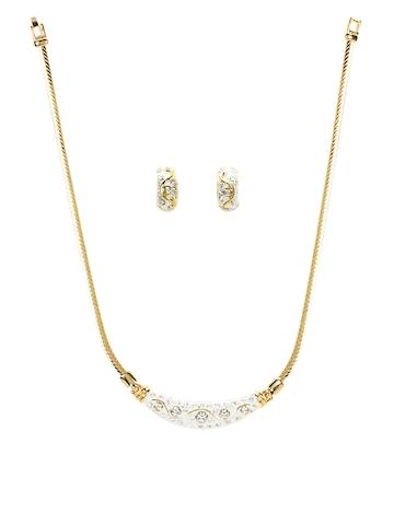 Estelle Women Gold Jewellery Set