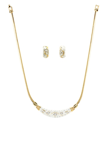 Estelle Women Gold Jewellery Set