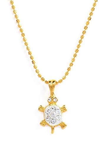 Estelle Women Gold Pendant with Chain