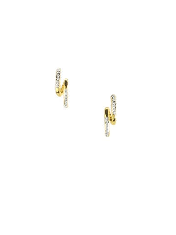 Estelle Women Golden Earrings