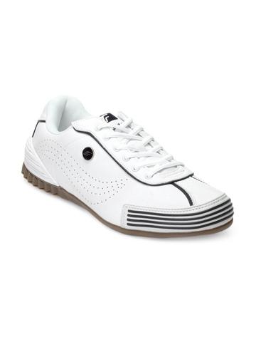 F Sports Men White Hurricane Sports Shoes