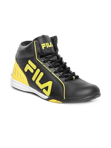 Fila Men Black Casual Shoes