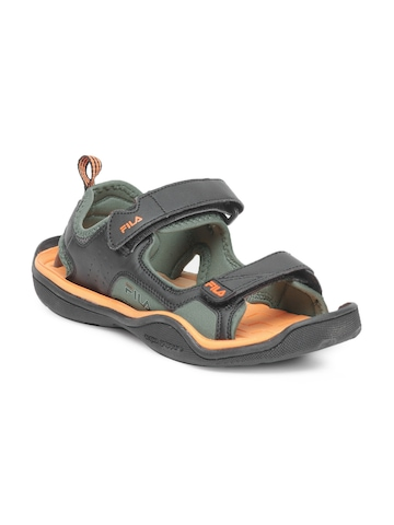Fila Men Black Sandals