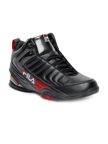 Fila Men Black Sports Shoes