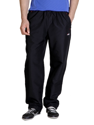 Fila Men Black Track Pants