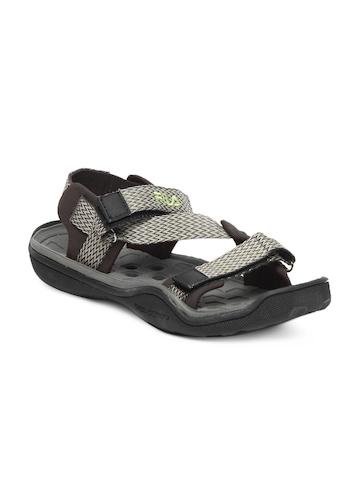 Fila Men Brown & Grey Sandals