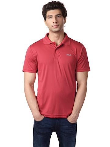 Fila Men Red T-Shirt