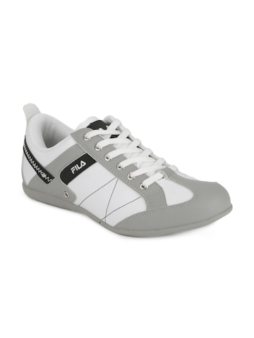 Fila Men White Fresco Sneakers