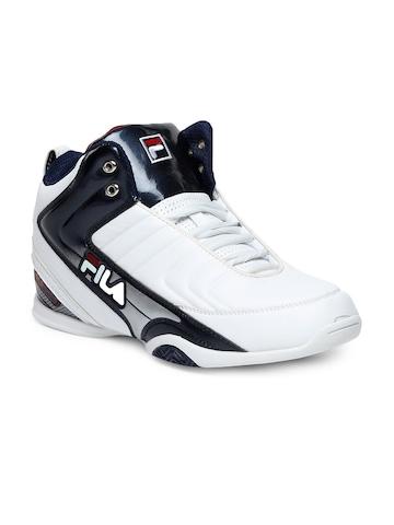 Fila Men White Sports Shoes