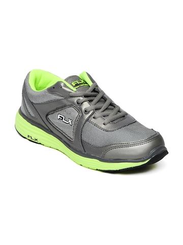 FLX Men Grey Mercurial Sports Shoes at myntra