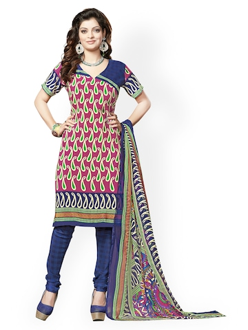 Creative Women Dress Material SemiStitched Amp Unstitched Suit Offers From