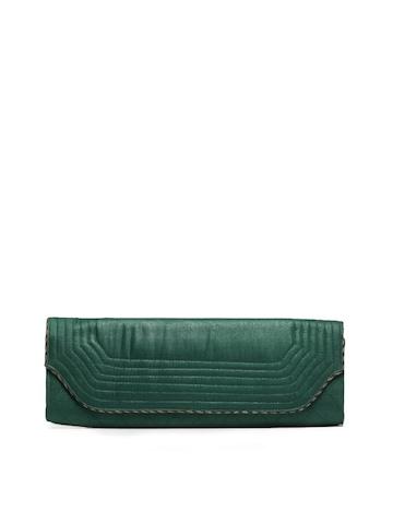 Fabindia Green Long Clutch