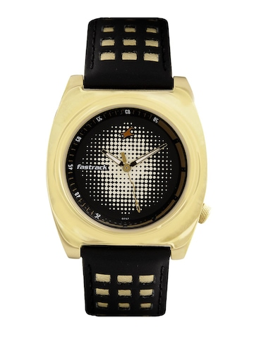Fastrack Men Black Dial Watch