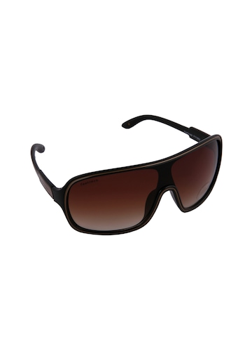 Fastrack Men Hip Hop Brown Sunglasses
