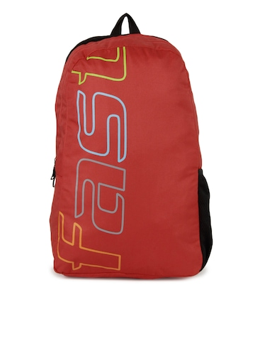 Fastrack Men Red Backpack
