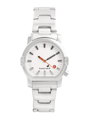 Fastrack Men White Dial Watch