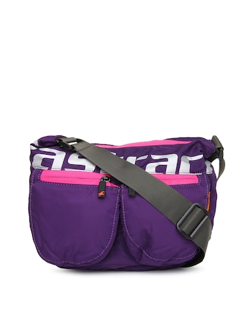 dbc9b9ee83f Fastrack Purple Sling Bag available at Myntra for Rs.956