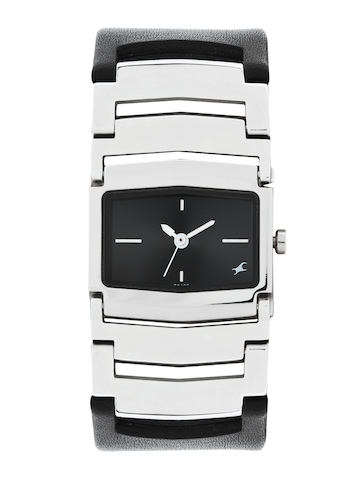 Fastrack Women Black Dial Watch 6062SL02