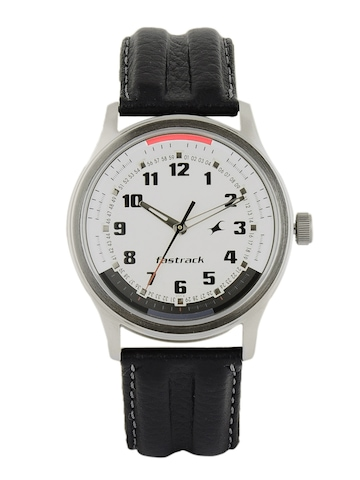 Fastrack Men White Dial Watch NC3001SL01