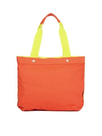 Fastrack Women Orange Handbag