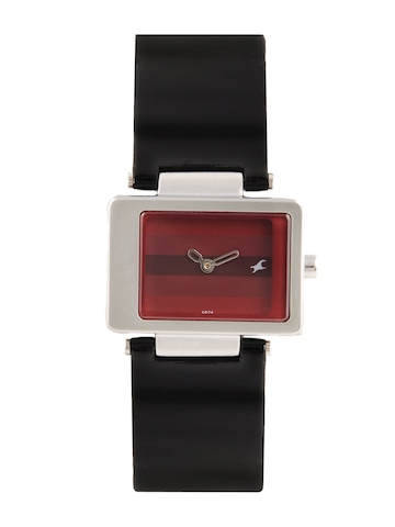 Fastrack Women Red Dial Watch