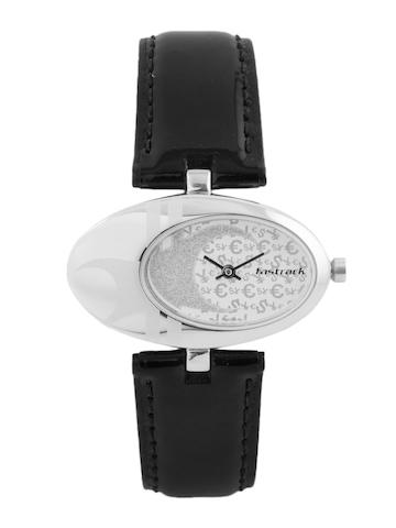 Fastrack Women Steel Dial Watch