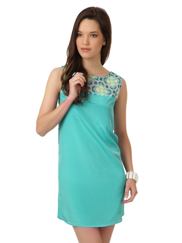 Femella Women Green Tunic