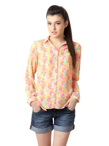 Femella Women Multi Coloured Shirt