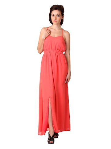 Femella Women Peach Dress